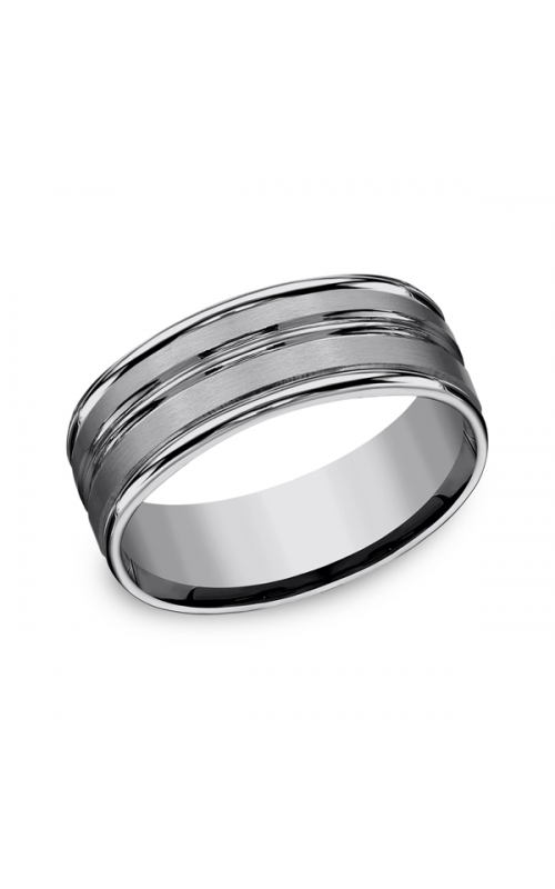 Forge Tungsten Comfort-Fit Design Wedding Band RECF58180TG10 product image