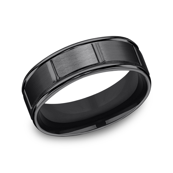 Forge Men's Wedding Bands RECF77452BKT06 product image