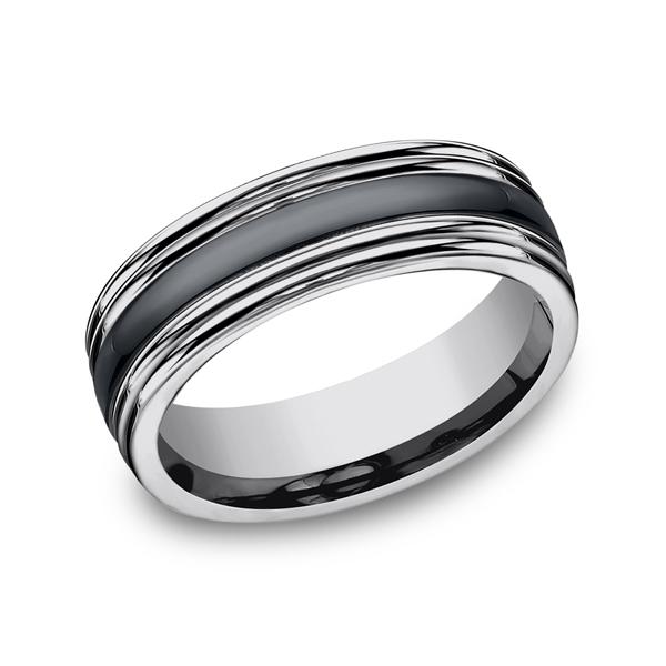 Forge Men's Wedding Bands RECF77863CMTG06 product image
