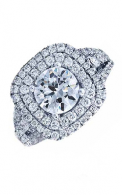 Frederic Sage Halo Engagement ring RM137-W product image