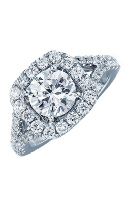 Frederic Sage Halo Engagement ring RM4003-W product image