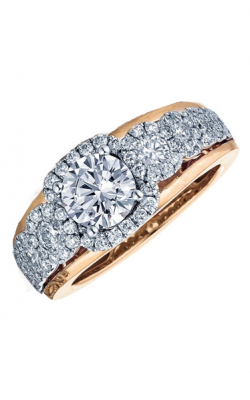 Frederic Sage Halo Engagement ring RM116-1-WP product image