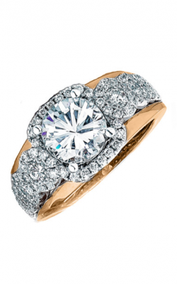 Frederic Sage Halo Engagement ring RM116-2-WP product image