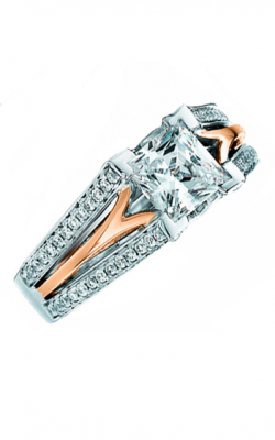 Frederic Sage Wide Shanks Engagement ring RM159-PW product image