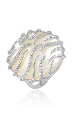 Frederic Sage Natural Shell Fashion Ring R1916W-WGMP product image