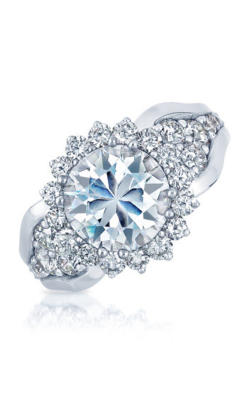 Frederic Sage Halo Engagement Ring RM4905-W product image