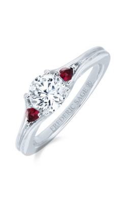 Frederic Sage Solitaire Engagement Ring RM4532-RUW product image