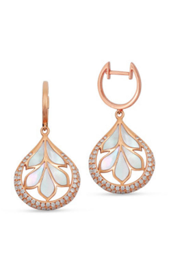 Frederic Sage Natural Shell Earring E2284W-PWMP product image