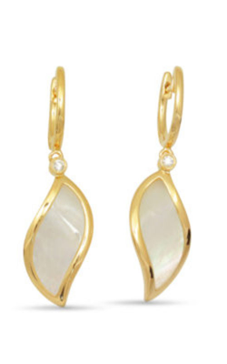 Frederic Sage Natural Shell Earring E2444W-YWM product image