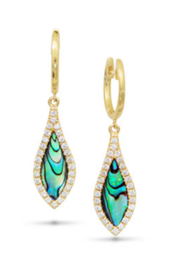 Frederic Sage Natural Shell Earring E2700A-YAL product image