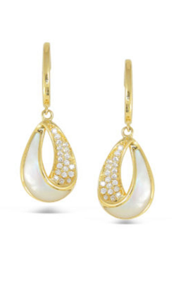 Frederic Sage Natural Shell Earrings E2693W-YWM product image
