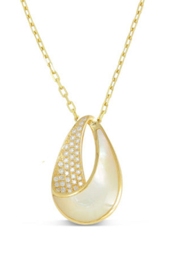 Frederic Sage Natural Shells Necklace P3695W-YWM product image