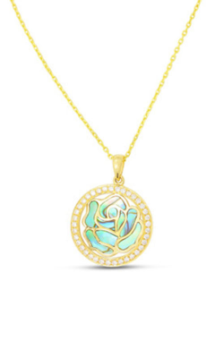 Frederic Sage Natural Shells Necklace P3697A-YGAL product image