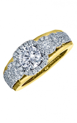 Frederic Sage Halo Engagement Ring RM116-1-WY product image