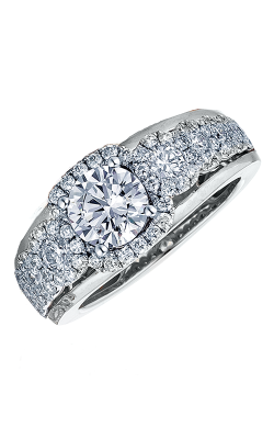 Frederic Sage Halo Engagement Ring RM116-1 product image