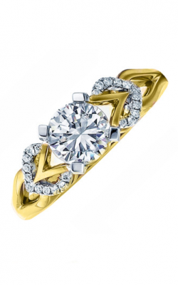 Frederic Sage Solitaire Engagement Ring RM166-Y product image