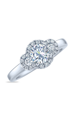 Frederic Sage Halo Engagement Ring RM4010-4-W product image