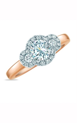 Frederic Sage Halo Engagement Ring RM4010-WP product image