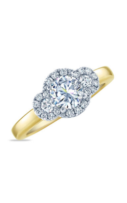 Frederic Sage Halo Engagement Ring RM4010-WY product image