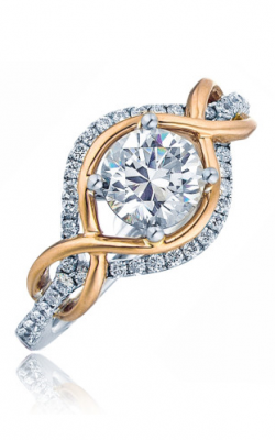 Frederic Sage Halo Engagement Ring RM4207-PW product image