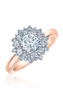 Frederic Sage Halo Engagement ring RM4477-WP product image