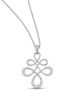 Frederic Sage Diamonds Necklace PD390-4-W product image