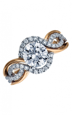 Frederic Sage Halo Engagement Ring RM4027-PW product image