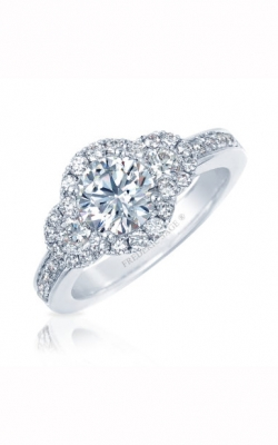Frederic Sage Halo Engagement ring RM4087-W product image