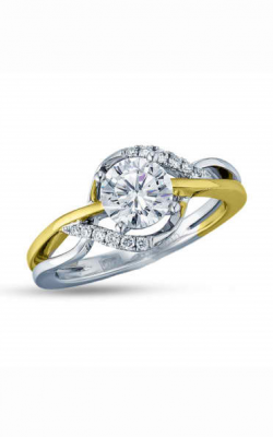 Frederic Sage Halo Engagement Ring RM4214-YW product image