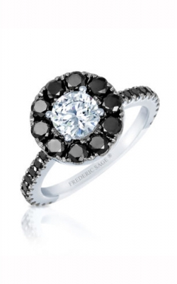 Frederic Sage Halo Engagement Ring RM4588KW-75-4W product image