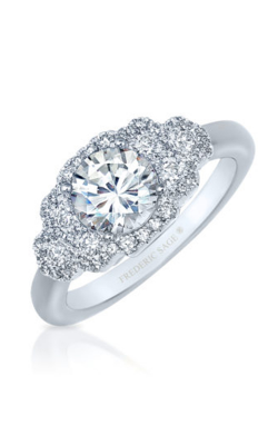Frederic Sage Halo Engagement Ring RM4735-W product image