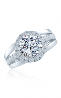 Frederic Sage Halo Engagement Ring RM4902-4-2-4-W product image
