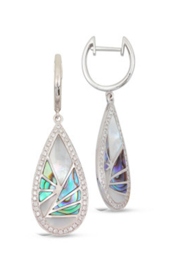 Frederic Sage Natural Shell Earrings E2254AW-WAW product image