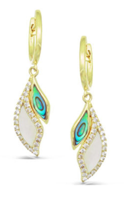 Frederic Sage Natural Shell Earring E2491AW-YAWM product image
