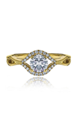Frederic Sage Halo Engagement Ring RM4204-Y product image
