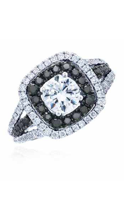 Frederic Sage Halo Engagement ring RM135K-W product image