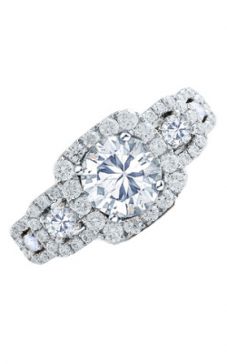 Frederic Sage Halo Engagement Ring RM4037-4-W product image