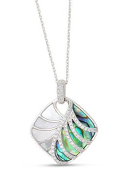 Frederic Sage Natural Shell Necklace P3093AW-WAWMP product image
