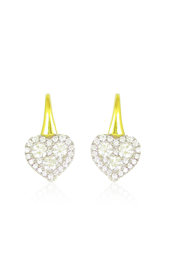 Frederic Sage Diamonds Earring E2722-4-YW product image