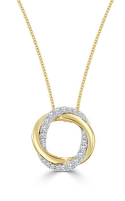 Frederic Sage Diamonds Necklace P3347-YCYW product image