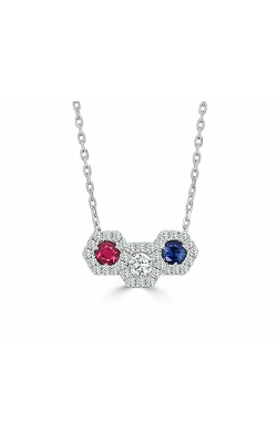 Frederic Sage Diamonds Necklace P3317-4-RSW product image