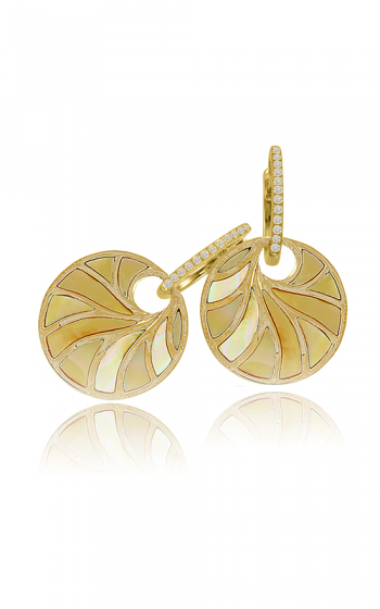 Frederic Sage Natural Shell Earring E2578Y-YGYMP product image