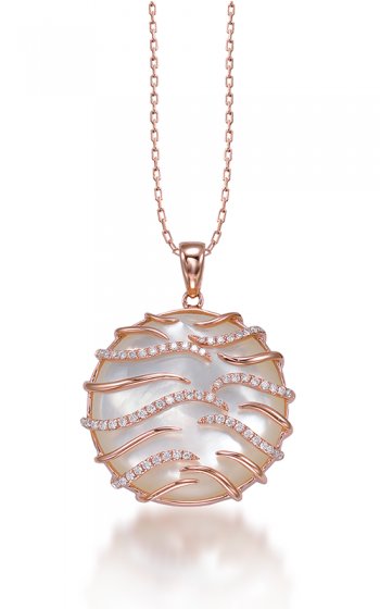 Frederic Sage Natural Shells Necklace P9926W-PGMP product image