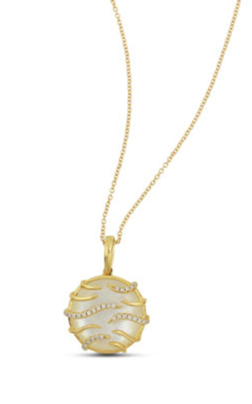 Frederic Sage Natural Shells Necklace P9946W-YWMP product image