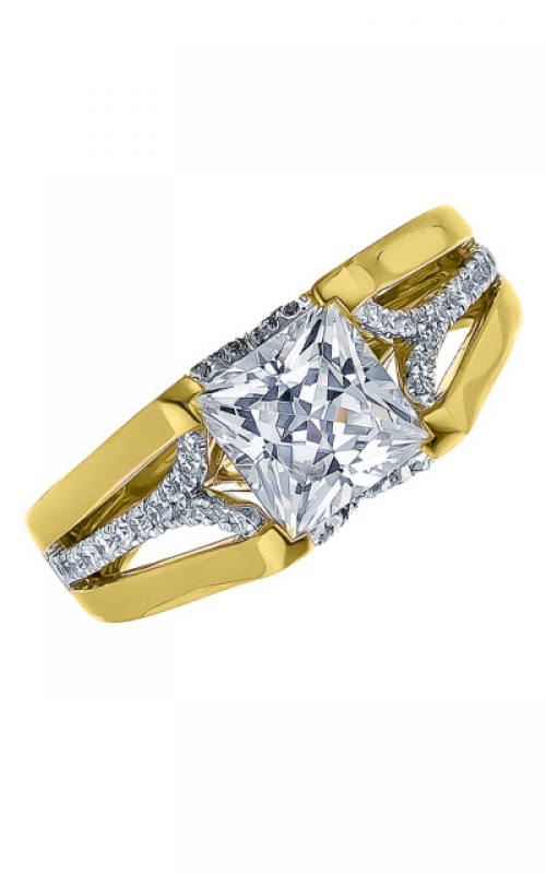 Frederic Sage Wide Shanks Engagement ring RM160-Y product image