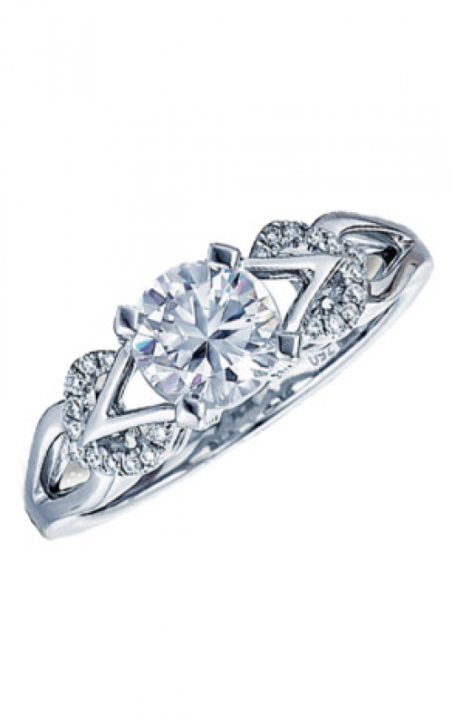 Frederic Sage Sage Solitaire Engagement ring RM166-W product image