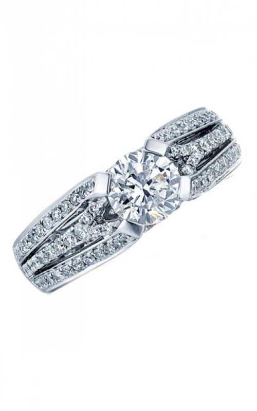 Frederic Sage Wide Shanks Engagement ring RM4163-W product image