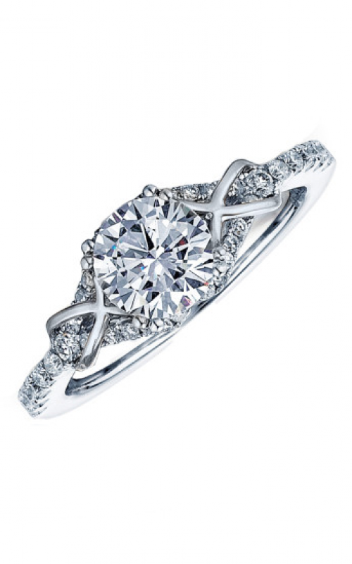 Frederic Sage Sage Solitaire Engagement ring RM182-4-W product image