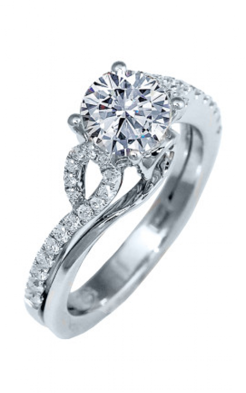 Frederic Sage Sage Solitaire Engagement ring RM4185-4-W product image
