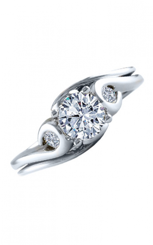 Frederic Sage Sage Solitaire Engagement ring RM4285-4-W product image